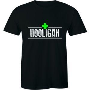 Irish Clover Hooligan T-Shirt Patricks Day Parade